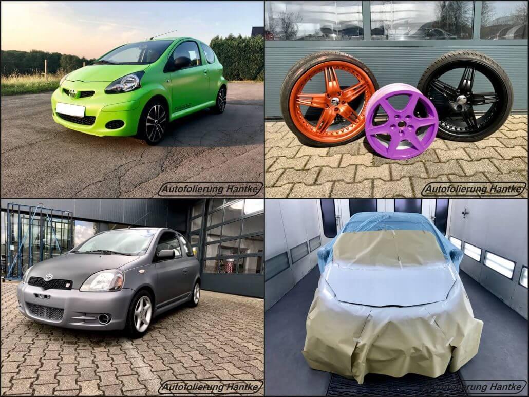 Die Autofolierung Hantke bietet auch Fahrzeugfolierungen in Witten an.